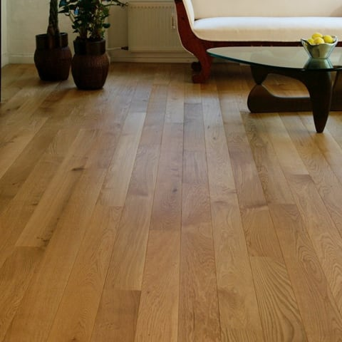 Oak 150mm Lacquered Hardwood Flooring