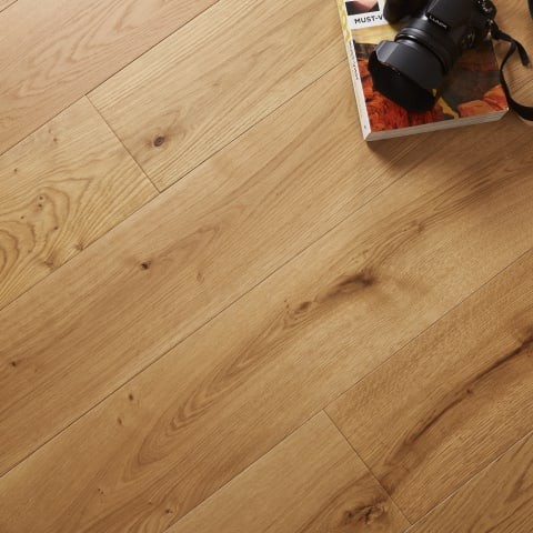 French Barn European Natural Oak Heavy Duty UV Oiled 190mm Engineered