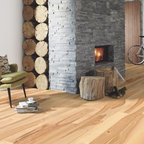 Ash 140mm Single Plank Engineered Hardwood Flooring