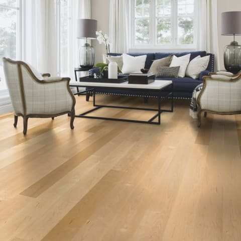 Canadian Maple Single Plank Engineered Hardwood Flooring
