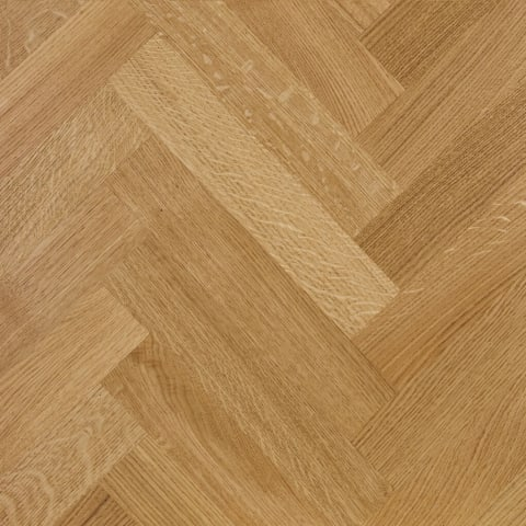 Prime Oak 350mm Herringbone Parquet Engineered Block