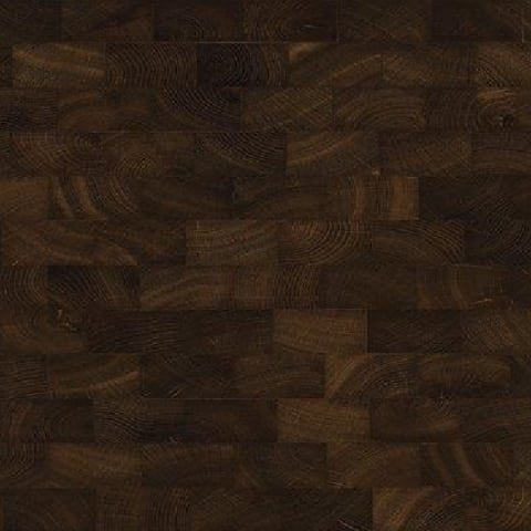 Oak End Grain Fumed Natural Block Parquet Flooring