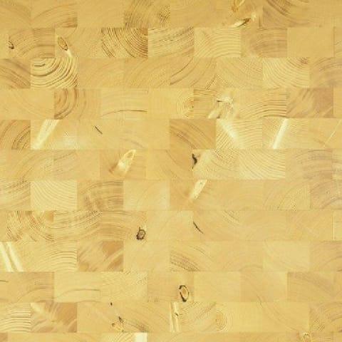 Spruce End Grain Natural Block Parquet Flooring