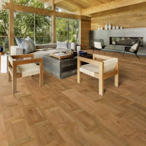 Veneto Castle Natural Oak Brushed Oil Engineered Venetian Parquet