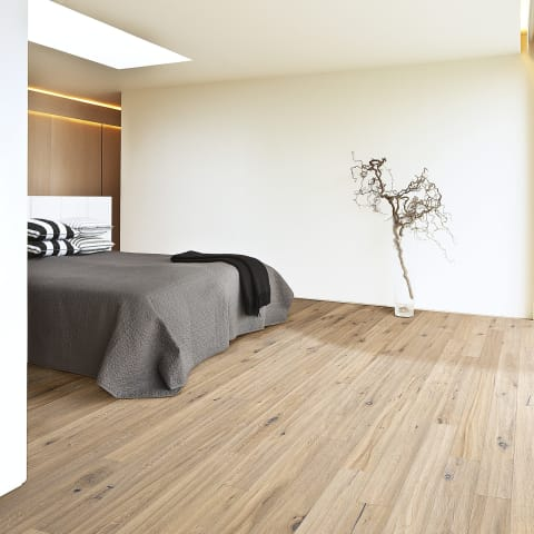 Trench Oak Brushed Oiled Hand scraped Engineered Wood Flooring