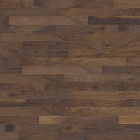 Groove Walnut Brushed Oiled Hand Scraped Hardwood Engineered Wood Flooring