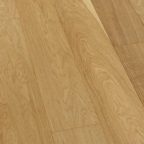 Oak Natural  Brushed & UV Oiled 150mm Engineered Hardwood Flooring
