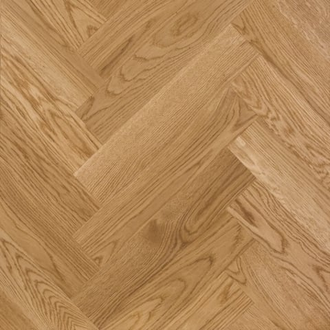 Prime Oak 280mm Herringbone Parquet Block