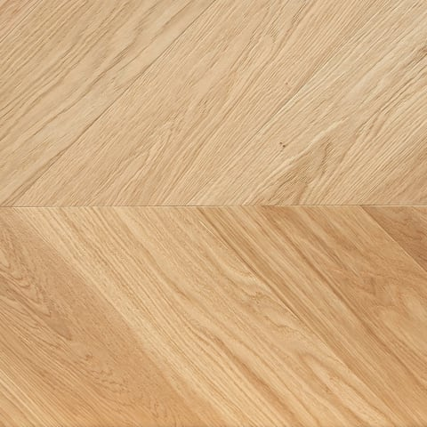 Sverresborg Oak Brushed & Natural Oil Chevron Parquet Flooring
