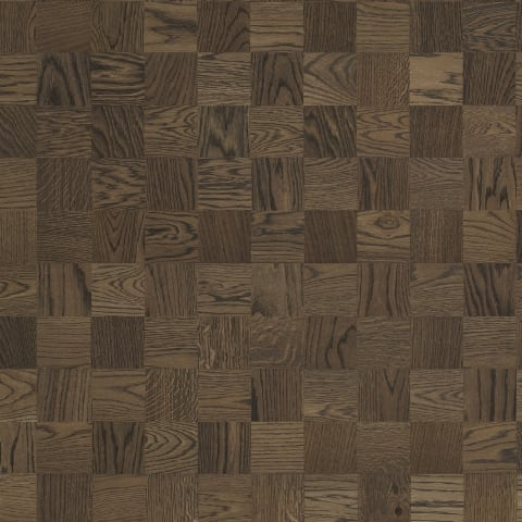 Berlin Stained Oak Small Cube Block Parquet Flooring