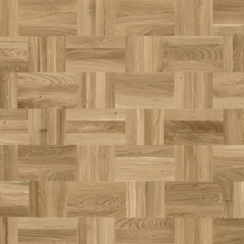 Baltic Stained Oak Drie-Vier Dutch Weave- Parquet Flooring