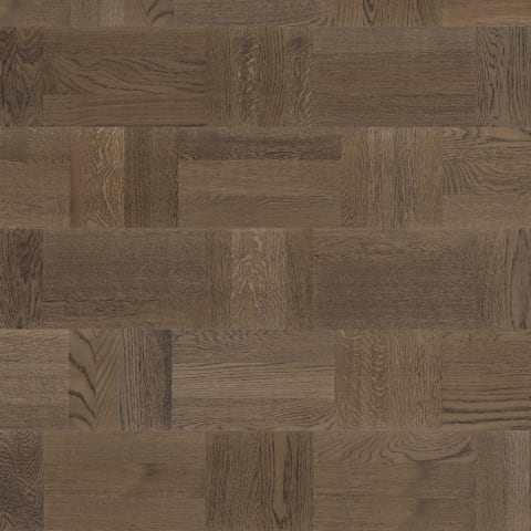Bavarian Stained Oak Drie-Vier Dutch Weave- Parquet Flooring
