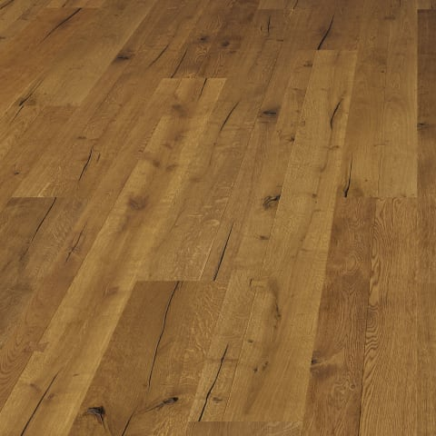 Westminster Oak Smoked Oiled Heavy Distressed Brushed 290mm Hardwood Flooring