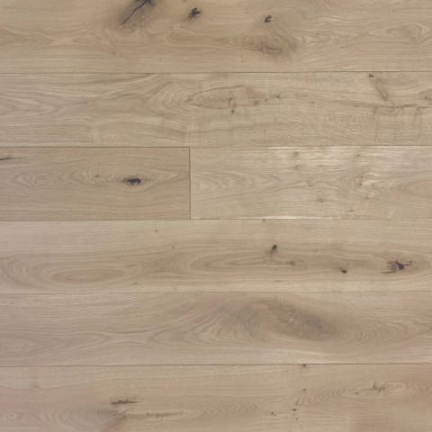 Raw Silk Oak Brushed Invisible Lacquered 190mm Engineered