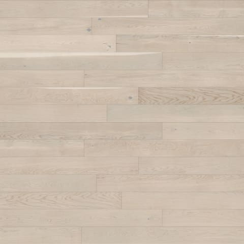 Chamonix Pure White Stained Oak Brushed UV-Oiled Engineered Hardwood Flooring