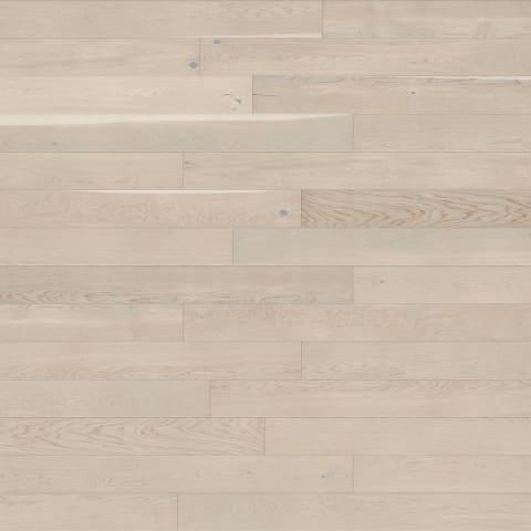 Chamonix Pure White Stained Oak Brushed UV-Oiled Engineered Hardwood Flooring