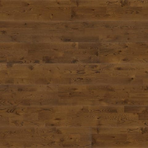 3 Strip Golden Oak Brushed Lacquered Engineered Hardwood Flooring