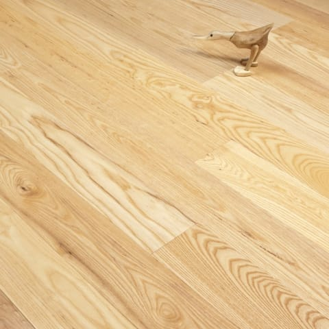 Ash 135mm Single Plank Solid Hardwood Flooring
