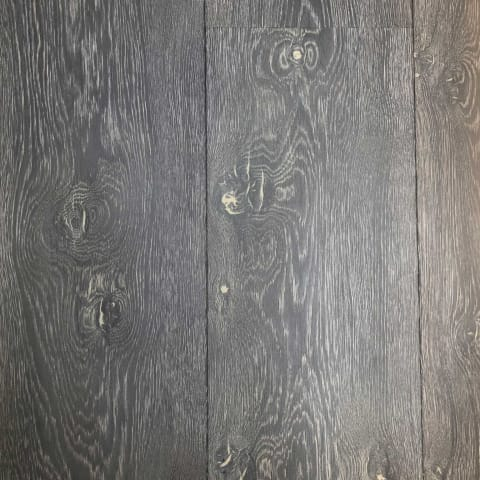 Inyo Forest Burnt and Stained Oak Brushed Multi-Width Engineered Hardwood Flooring