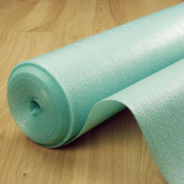 Green Foam 3mm Wood Flooring Underlay and Barrier