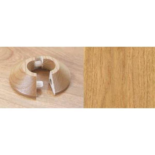 Natural Oak Solid Wood Pipe Rose Pack of 1