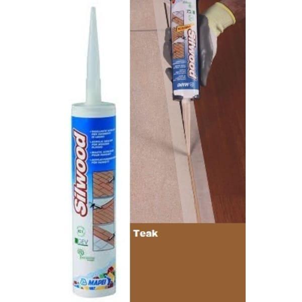 Mapei Silwood Cartridge Teak Wood Flooring Sealant - 310ml