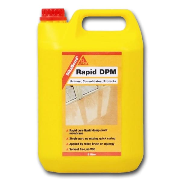 Sikabond Rapid Liquid DPM for Wood Flooring