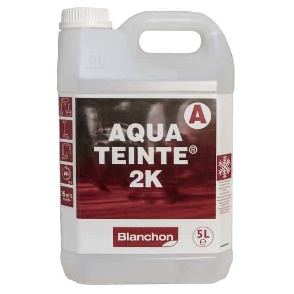 Blanchon Aquateinte 2K SOFT GREY Wood Flooring Stain 5L