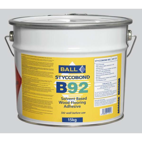 Ball B92 Stycobond Wood Flooring Adhesive 15kg
