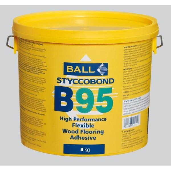 Ball B95 Stycobond Wood Flooring Adhesive 8kg
