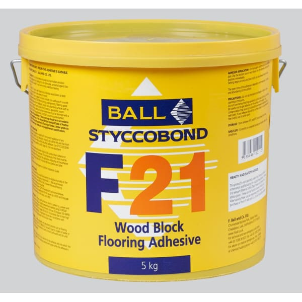 Ball F21 Stycobond Wood Flooring Adhesive 5kg