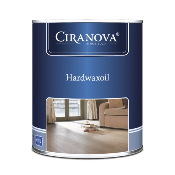 Ciranova Wood Flooring Hardwax Oil Extra White 1L