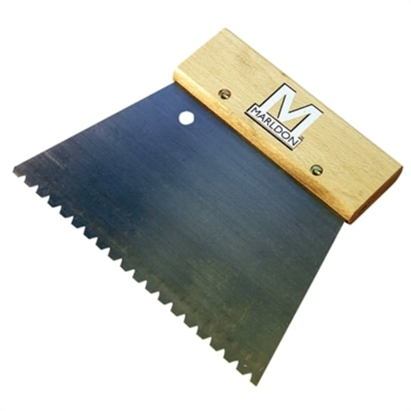 Marldon Notched Trowel 4mm for Wood Flooring