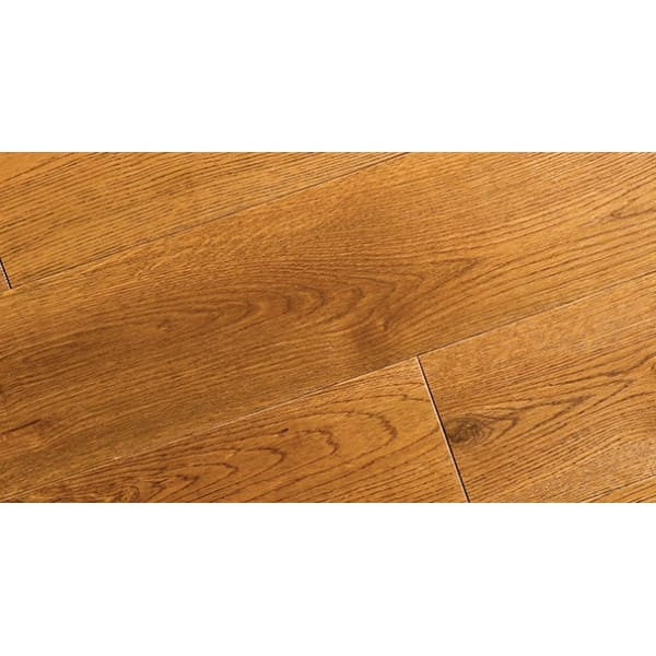 Golden Rustic Stained Solid Oak Scotia 2.7m for Flooring