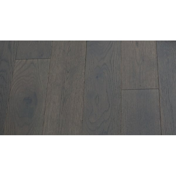 Grey Stained Solid Oak T-Bar Profile Soild Hardwood 18mm Rebate 2.7m