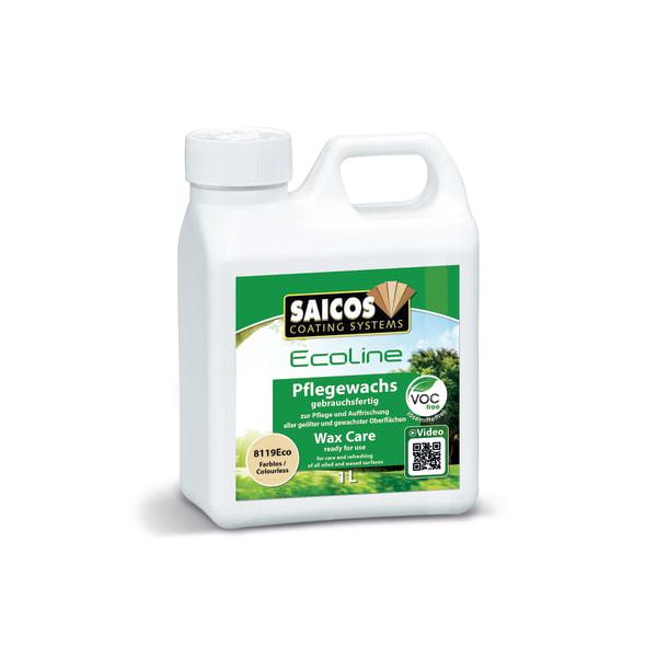 Saicos Wooden Floor Wax Care - 1L CLEAR 8119