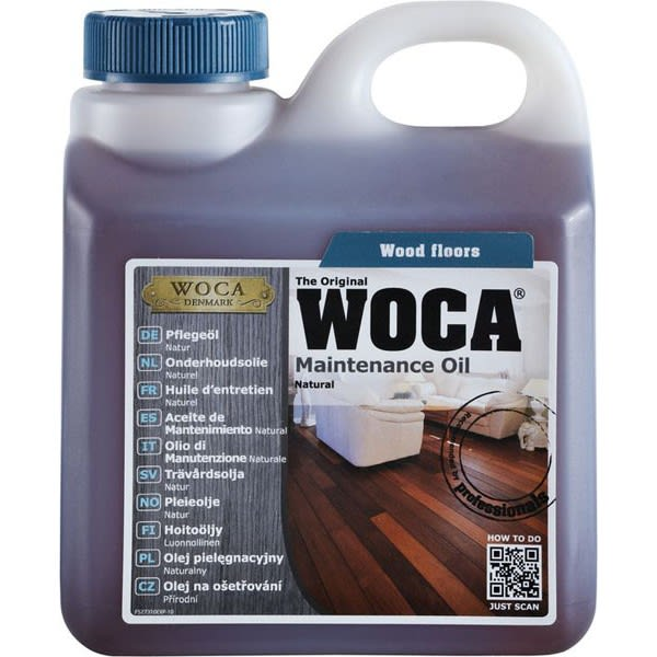 WOCA Oil Natural  Maintenance  2.5L (1L = 35m2)