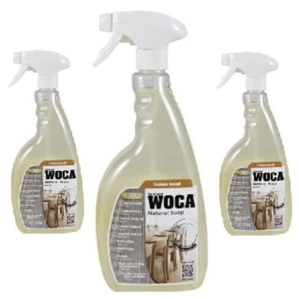WOCA Natural Pre-Mixed Soap Spray 0.75L TRIPLE PACK