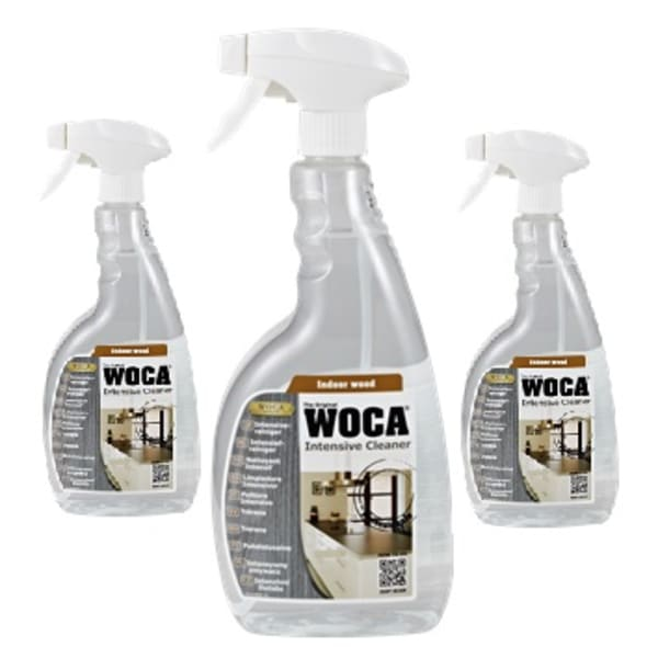 WOCA Intensive Pre-mix Cleaner Spray 0.75L Triple Pack