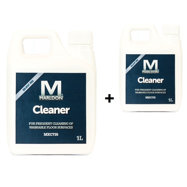Marldon MXC 735 Wooden Floor Cleaner Concentrate 1 Litre (Twin Pack)