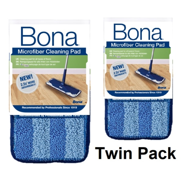 Bona Cleaning Pad (Twin Pack)