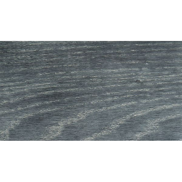 Midnight Mist Stained Solid Oak T-Bar Profile Hardwood 15mm Rebate 2.7m