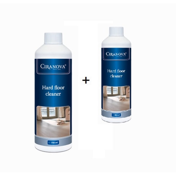 Ciranova Lacquered Wood Floor Cleaner  750ml-Twin Pack