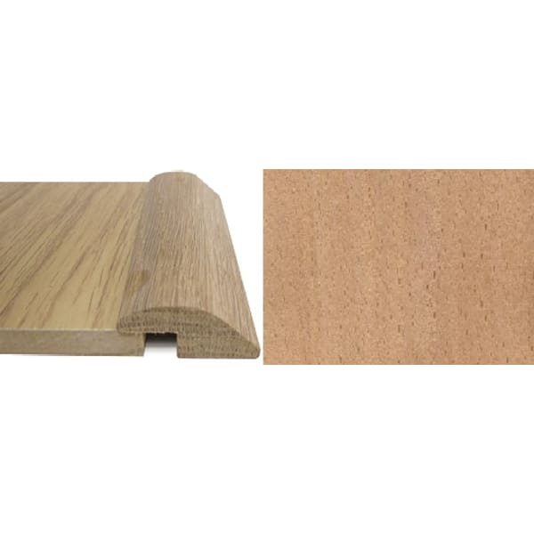 Beech Ramp Bar Flooring Profile 7mm Rebate Solid Hardwood 2.7m