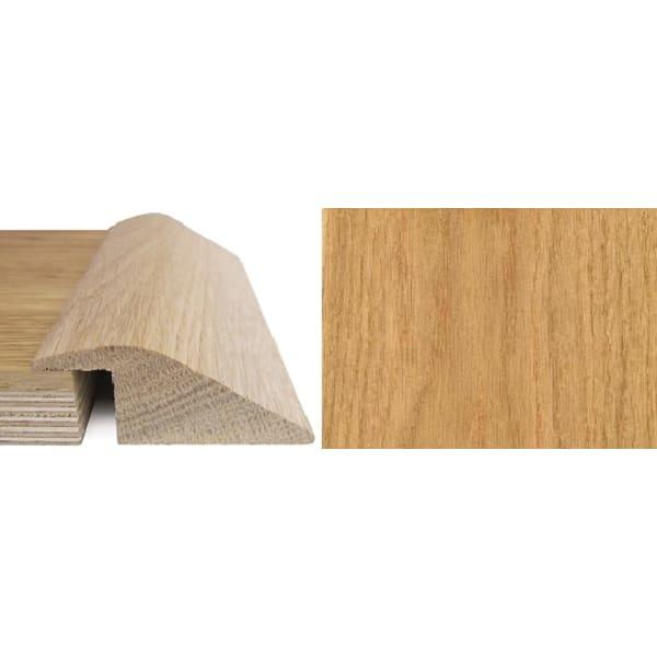 Oak Ramp Bar Flooring Profile 20mm Rebate Solid Hardwood 2.7m
