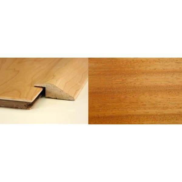 Iroko Ramp Bar Flooring Profile 13mm Rebate Solid Hardwood 2.4m
