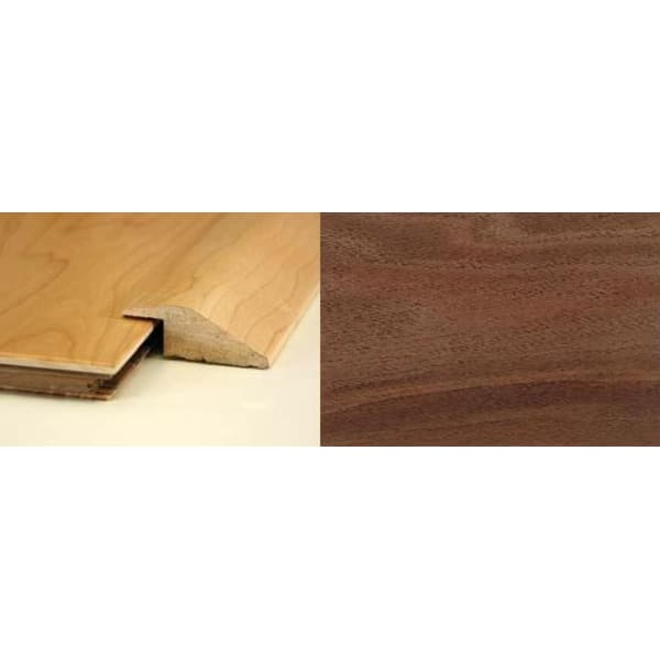 Walnut Ramp Bar Flooring Profile 20mm Rebate Soild Hardwood 2.7m