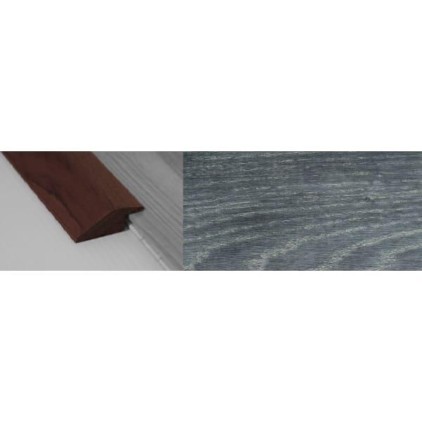 Midnight Mist Stained Solid Oak Ramp Bar Flooring Profile 15mm Rebate 2.7m