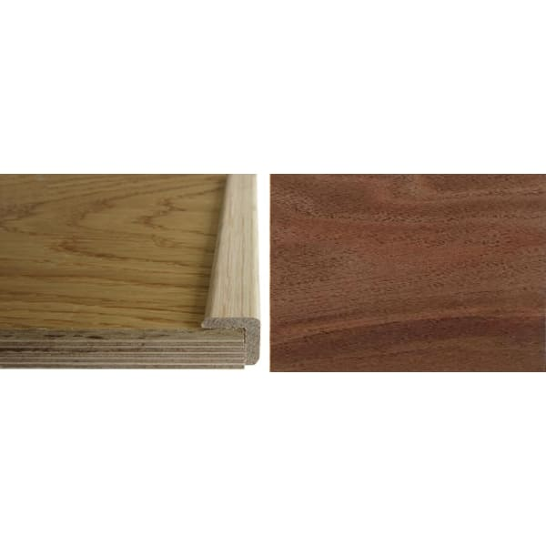 Walnut Solid Hardwood  24mm L-Quadrant 2.7m for Flooring