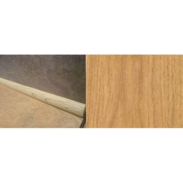 Oak Solid Hardwood 19mm Quadrant 2.44m for Flooring